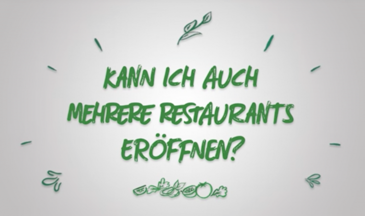 Ein Franchisepartner, mehrere Restaurants: Expansion mit System