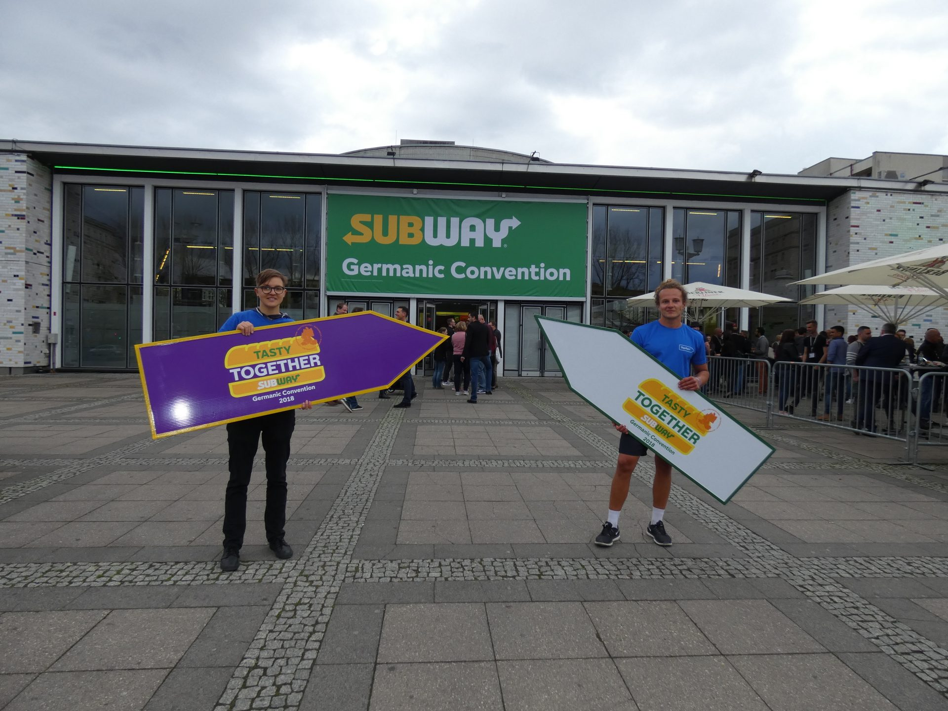 Tasty Together: Subway® Germanic Convention 2018
