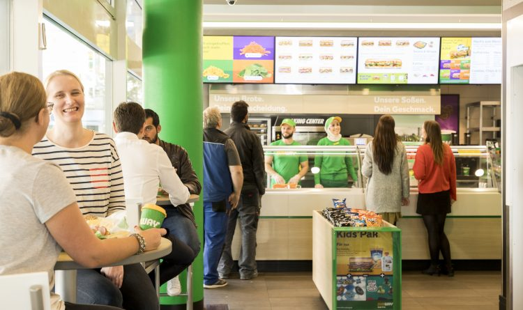 Subway® Fresh Forward Restaurants erobern Deutschland